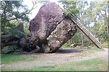 NY2516 : The Bowder Stone by Stephen Darlington