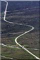 NN2554 : The A82 on Rannoch Moor by Walter Baxter