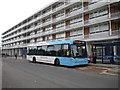 SP3682 : Bus outside Bell Green precinct by Richard Vince