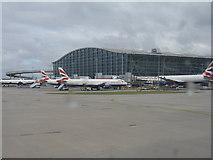 TQ0575 : Heathrow, Terminal 5 by M J Richardson
