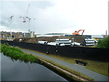 NT2472 : Construction work at Fountainbridge by kim traynor