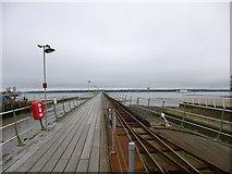 SU4208 : Hythe, pier railway by Mike Faherty