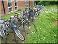 TL4656 : Bicycles at Homerton College by Marathon