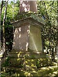 NS2676 : Memorial to Thomas Fairrie by Lairich Rig