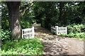 SP9338 : Entrance to Wavendon Lodge by Philip Jeffrey