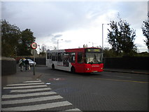 SO9596 : Entering Bilston bus station by Richard Vince