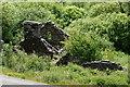 SH6805 : Bryn Eglwys Quarry Building, Gwynedd by Peter Trimming