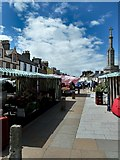 NX4355 : Wigtown Market by Andy Farrington