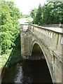 NU1913 : Denwick Bridge where the B1340 crosses the River Aln by Russel Wills
