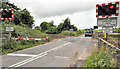 J1461 : Drumbane level crossing near Moira (1) by Albert Bridge