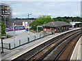SY6990 : Dorchester South Station by Nigel Mykura