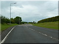NU0049 : A1167 northwest of Scremerston approaching the A1 by Alexander P Kapp