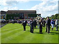 TL6161 : The July Course, Newmarket - In the parade ring by Richard Humphrey