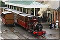 SH5800 : No.2 'Dolgoch' at Tywyn Station, Gwynedd by Peter Trimming