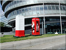 TQ3380 : BT ArtBoxes at More London by PAUL FARMER