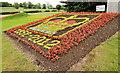 J2459 : Jubilee flowerbed, Hillsborough by Albert Bridge
