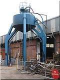 SK4175 : Water Tank at Barrow Hill by Dave Pickersgill