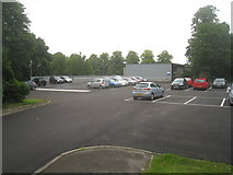 SU6351 : New car park - former site of Bramblys Grange by Sandy B