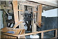 SJ5758 : Bunbury Mill - the gear (or meal) room by Chris Allen