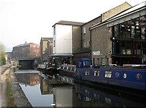 SE1437 : Shipley canal wharf by John Sutton