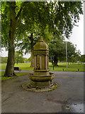 SD6911 : Drinking Fountain, Moss Bank Park by David Dixon