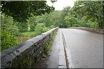 NY5046 : Armathwaite Bridge over River Eden by Roger Templeman