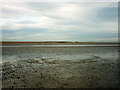 TQ9417 : Beach at low tide, Rye Bay by Robin Webster