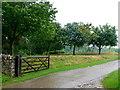 SP0813 : Track to Stowell Grove by Nigel Mykura