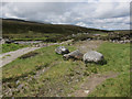 NN9887 : Site of former bridge over Allt Dhaidh Beag by Hugh Venables