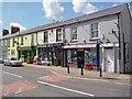 SO1107 : Three High Street shops, Rhymney by Robin Drayton