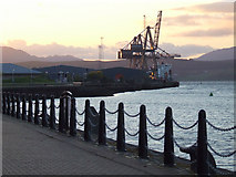 NS2876 : Greenock Ocean Terminal by Thomas Nugent