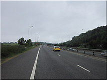 TQ2652 : Leaving the M25 at junction 8 westbound by Ian S