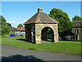 NZ0772 : Stamfordham Market Cross by Alexander P Kapp