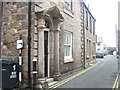 NU0052 : Ness Street and pre Worboys low bridge sign by Graham Robson