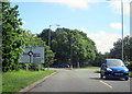 SP0564 : Redditch, Rough Hill Drive, Turn Right For Hospital by Roy Hughes