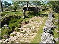 SX6372 : Dartmoor Way at Swincombe by Derek Harper
