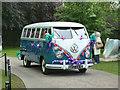 ST5545 : Unusual wedding car, Wells by Chris Allen