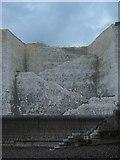 TQ4200 : Steps, Friars' Bay by Simon Carey