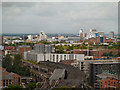 SJ8297 : View from Beetham Tower towards Salford Quays by David Dixon