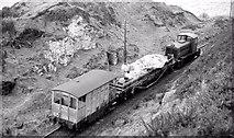 J4791 : DH and materials train near Whitehead by Albert Bridge