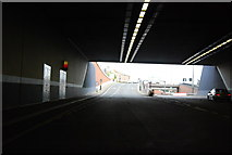 TQ7669 : Exiting The Medway Tunnel by N Chadwick