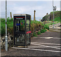 C7536 : Telephone call box, Downhill by Rossographer