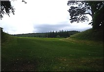 NO2694 : The western side of Balmoral private golf course by Stanley Howe