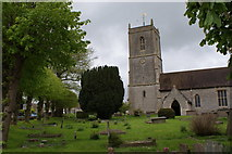ST6976 : Parish church of St Thomas A Becket, Pucklechurch by Simon Mortimer