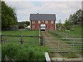 TL7056 : New house, Vicarage Farm by Hugh Venables