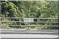 SU5894 : Plaque on Priest's Moor Bridge by Bill Nicholls
