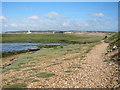 SZ3090 : Path along Hurst Spit by Oast House Archive