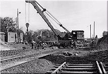 N8767 : Steam crane, Navan station by Albert Bridge