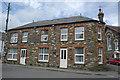 SX0680 : Terraced cottages, St Teath by Bill Harrison