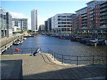SE3032 : Clarence Dock,Leeds by Joan Murfitt